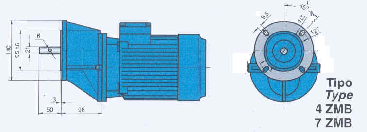 Special Gearboxes & Reducers for Animal Feeding machinery