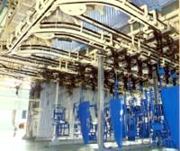 Overhead Chain Conveyors Produce Lines Assembly Lines